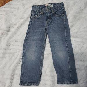 Boys Levi's blue jeans size 4T